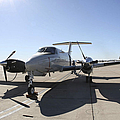 A  Uc-12f King Air Aircraft by Stocktrek Images