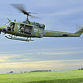 A Uh-1n Huey Helicopter Prepares by Stocktrek Images