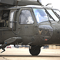 A Uh-60 Black Hawk Taxis by Terry Moore