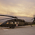 A Uh-60l Black Hawk Medevac Helicopter by Terry Moore
