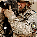 A U.s. Air Force Combat Cameraman by Stocktrek Images