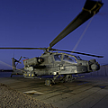 A U.s. Army Ah-64d Apache Helicopter by Stocktrek Images