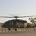 A U.s. Army Medevac Uh-60 Black Hawk by Terry Moore