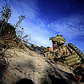 A U.s. Army Soldier Provides Supporting by Stocktrek Images