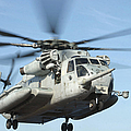 A U.s. Marine Corps Ch-53e Super by Stocktrek Images