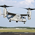 A U.s. Marine Corps Mv-22 Osprey Lifts by Stocktrek Images