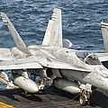 A Us Navy Fa-18c Hornet Tied by Giovanni Colla
