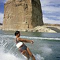A Vacationist Water Skis by National Geographic