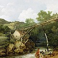 A View Near Matlock by Philip James Loutherbourg