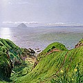 A View Of Ailsa Craig And The Isle Of Arran by William Bell Scott