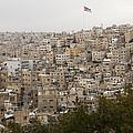 A View Of Amman, Jordan by Taylor S. Kennedy