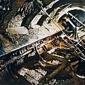 A View Of The Corroded Interior by Ira Block