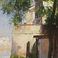 A View Of Venice From A Terrace by Henry Woods
