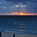 A Walk At Sunset by Caroline Stella