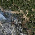 A Wildfire Burns Land Near Austin by Stocktrek Images