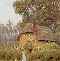 A Wiltshire Garden by Helen Allingham