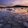 A Winter Sunset At Evenskjer In Troms by Arild Heitmann
