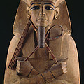 A Wooden Coffin Case Of The Pharaoh by O. Louis Mazzatenta