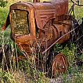 Abandonded Farm Tractor 1 by Douglas Barnett