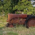 Abandonded Farm Tractor 2 by Douglas Barnett