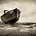Abandoned At Dungeness by David Turner
