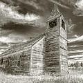 Abandoned Church Flora Oregon by Kevin Felts