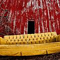 Abandoned Couch by Cale Best