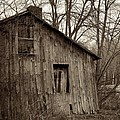 Abandoned Farmstead Facade by John Stephens