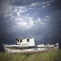 Abandoned Fishing Boat In Washington State by Randall Nyhof