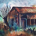 Abandoned House by Aileen Markowski