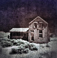 Abandoned House In Infrared by Jill Battaglia