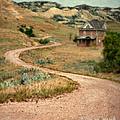 Abandoned House On Dirt Road by Jill Battaglia