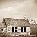 Abandoned Montana Shcoolhouse by Douglas Barnett