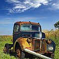 Abandoned Rusty Truck by Jill Battaglia