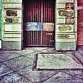 Abandoned Urban Building by Jill Battaglia