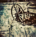 Abandoned Wagon By Old Ghost Town. by Jill Battaglia