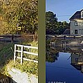 Abbotts Pond - Gently Cross Your Eyes And Focus On The Middle Image by Brian Wallace