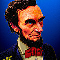 Abe Lincoln Blue by Che Rellom