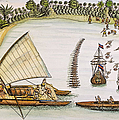 Abel Tasman Expedition 1643 by Granger