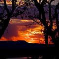 Abiquiu Sunset II by Vicki Pelham