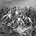 Abishai Saving David by Granger