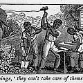 Abolitionist Cartoon Satirizing Slave by Everett