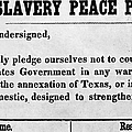 Abolitionist Peace Pledge by Granger