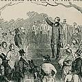 Abolitionist Wendell Phillips Speaking by Everett