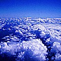 Above The Clouds Abstract by Brian Lenz