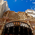 Above The Front Entry San Xavier Mission by Jon Berghoff