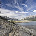 Abraham Lake Created By Bighorn Dam by Matthias Breiter