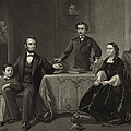 Abraham Lincoln And Family by International  Images