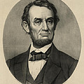 Abraham Lincoln Portrait by International  Images