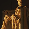 Abraham Lincoln Statue In Lincoln by Richard Nowitz